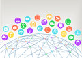 Internet Of Things (Iot)  Illu...