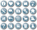 Internet web icon set button vector Royalty Free Stock Photo