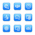 Internet web icons Royalty Free Stock Images
