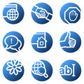 Internet web icons Stock Image