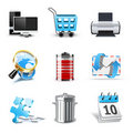 Internet and web icons | Bella series Royalty Free Stock Photos
