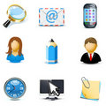 Internet and web icons | Bella series Stock Photos