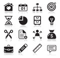 Internet web icons set Stock Photos