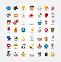 Internet & Website icons,Web Icons, icons Set Royalty Free Stock Photos