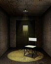 Interrogation room Royalty Free Stock Photo