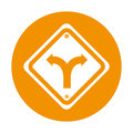 Intersection traffic signal icon