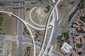 Interstate 17 & 40 Interchange Royalty Free Stock Photo