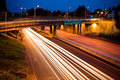 Interstate 405 in Portland Royalty Free Stock Image