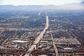 Interstate from the loop interchange looking south in phoenix arizona Royalty Free Stock Photography