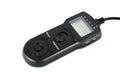 Interval shutter remote for digital camera timer Stock Photo