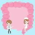 Intestine health concept