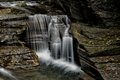 Intimate Cascading Falls Stock Photos