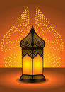 Intricate arabic floor lamp Stock Photos