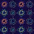 Intricate Circular Pattern Stock Image