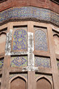 Intricate design in Agra Fort