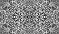 Intricate fantasy black seamless pattern detailed background Stock Photo