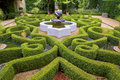 Intricate knot garden Royalty Free Stock Photo