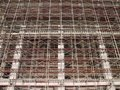 Intricate Scaffolding Stock Images