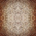 Intricate silver pattern as burnished abstract antique background Royalty Free Stock Photography