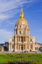 Invalides in paris les is a complex of museums and monuments and the burial site for some of france s war heroes notably napoleon Stock Images