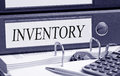 Inventory Binder in the Office Royalty Free Stock Photo
