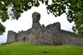 Inverlochy castle near fort william in scotland united kingdom ruined th century highland Royalty Free Stock Photography