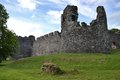 Inverlochy castle near fort william in scotland united kingdom ruined th century highland Stock Photo
