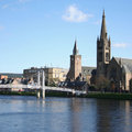 Inverness in the spring Stock Photos