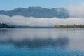 Inversion Over Lake Brunner