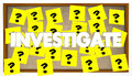 Investigate Search Clues Solve Mystery