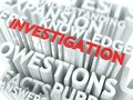 Investigation Concept. Royalty Free Stock Photo