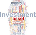 Investment background concept Stock Photography