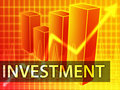 Investment finances Stock Image