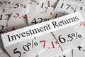Investment Returns Concept Stock Images