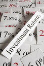 Investment Returns Concept Royalty Free Stock Photo