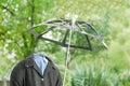 Invisible man Royalty Free Stock Photo