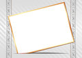 Invitation card on light background Royalty Free Stock Image