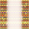 Invitation card with place for text and african ethnic pattern as background Royalty Free Stock Photography