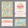 Invitation/Congratulation Card Set