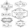 Invitation Set Stock Photos