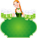 Invitation to the St. Patricks Day Royalty Free Stock Image