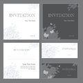 Invitations Royalty Free Stock Image