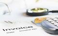 Invoice Royalty Free Stock Photo