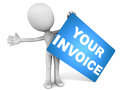 Invoice Royalty Free Stock Photo
