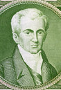Ioannis kapodistrias on drachmai banknote from greece first head of state of independent greece after the revolution against the Stock Images