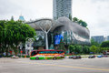 ION Orchard shopping mall and residences in Singapore Royalty Free Stock Photo
