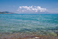 Ionian sea transparent and clear Stock Photography