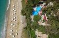Ionian wybrzeże morza Zdjęcia Royalty Free
