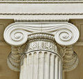 Ionic column Royalty Free Stock Photo