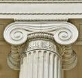 Ionic column Royalty Free Stock Photo